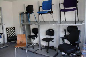 Stühle für Produktion oder Labor
