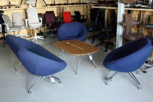 Stühle für den Lounge Bereich