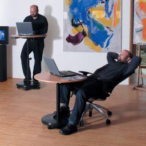 Steh-Sitz-Pult-Rolls