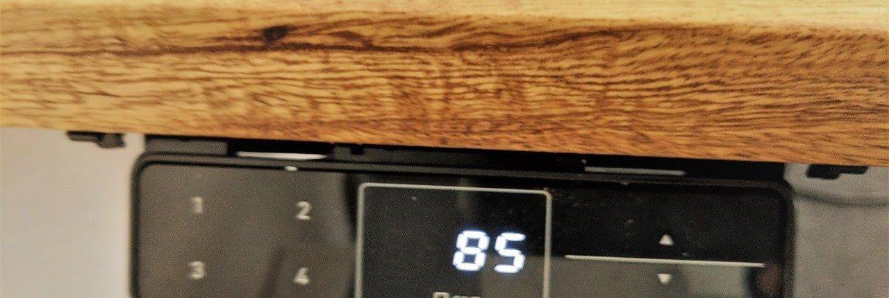 Schreibtisch Elektrisch Fur 2 Personen Nebeneinander: Elektrische Höhenverstellbare Schreibtische Ausstellung Im RNK